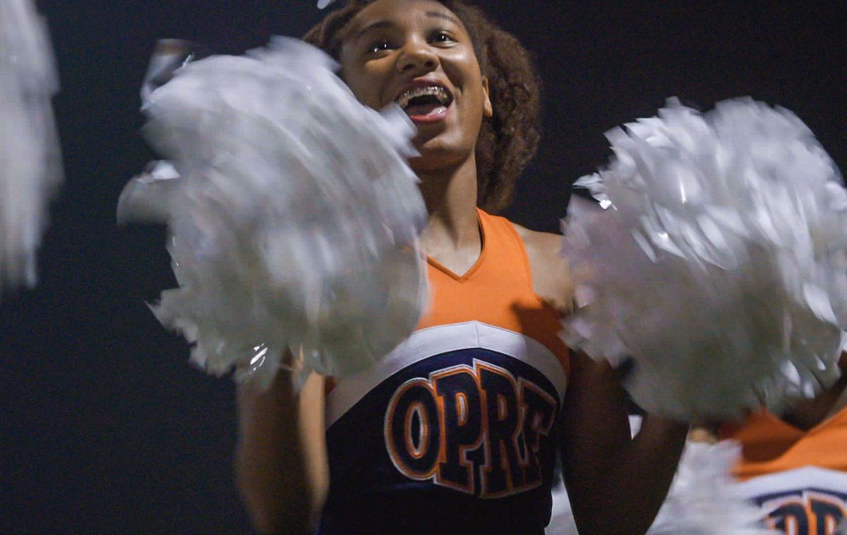 """Tiara Oliphant, then a student at Oak Park and River Forest High School, is seen on the documentary series """"America to Me."""" 