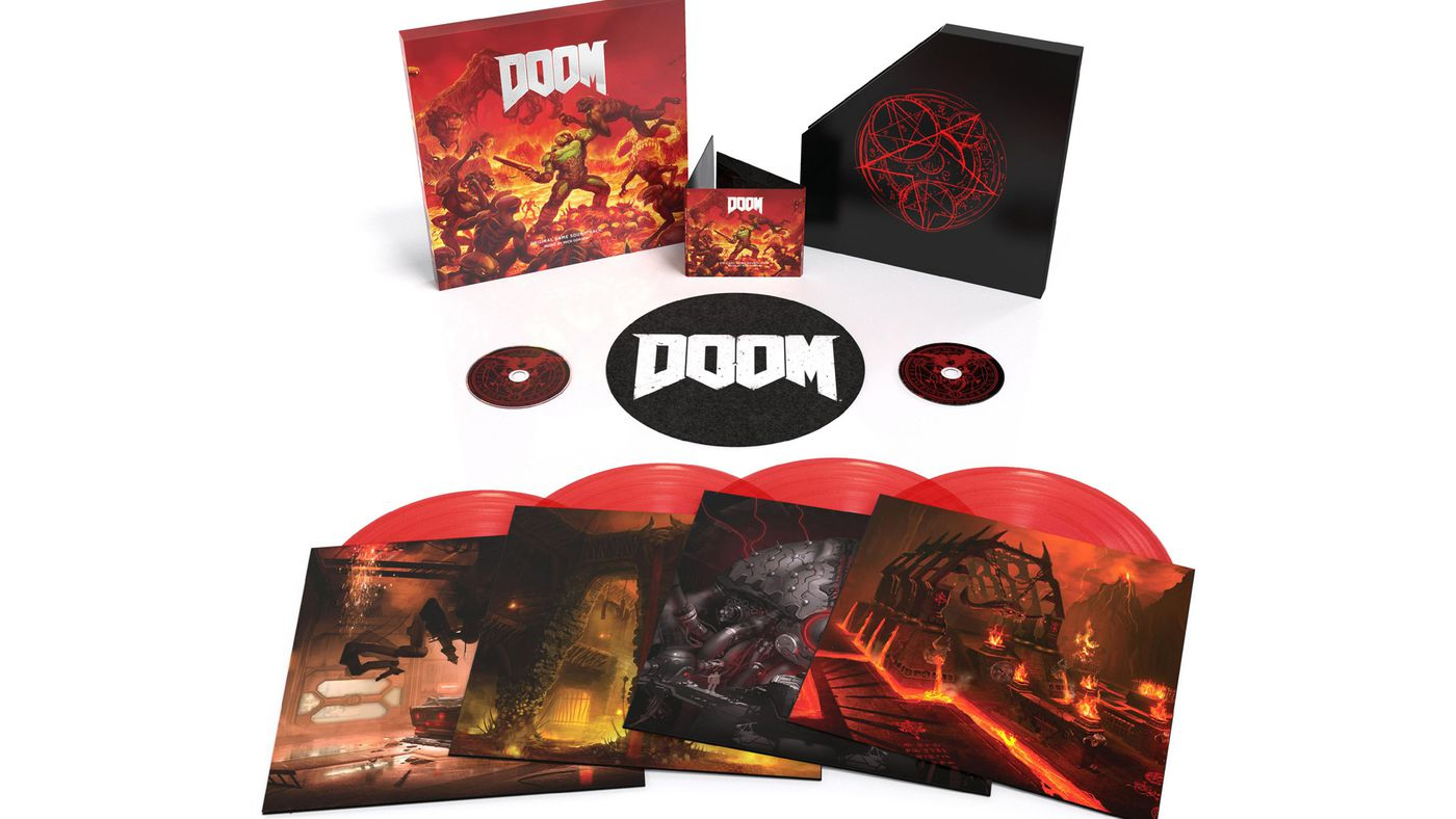 Doom's amazing soundtrack getting deluxe physical release