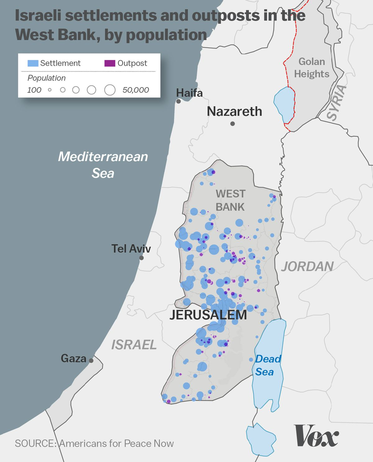 The growth of Israeli settlements, explained in 5 charts   Vox