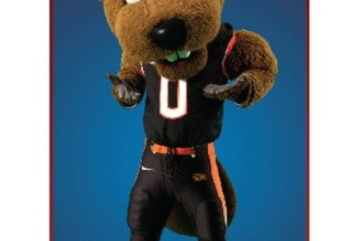 """Benny was named """"Most Cunning"""" in this year's Capital One Mascot Challenge."""