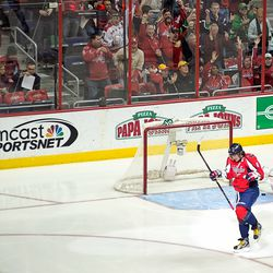 Ovechkin Scores Early