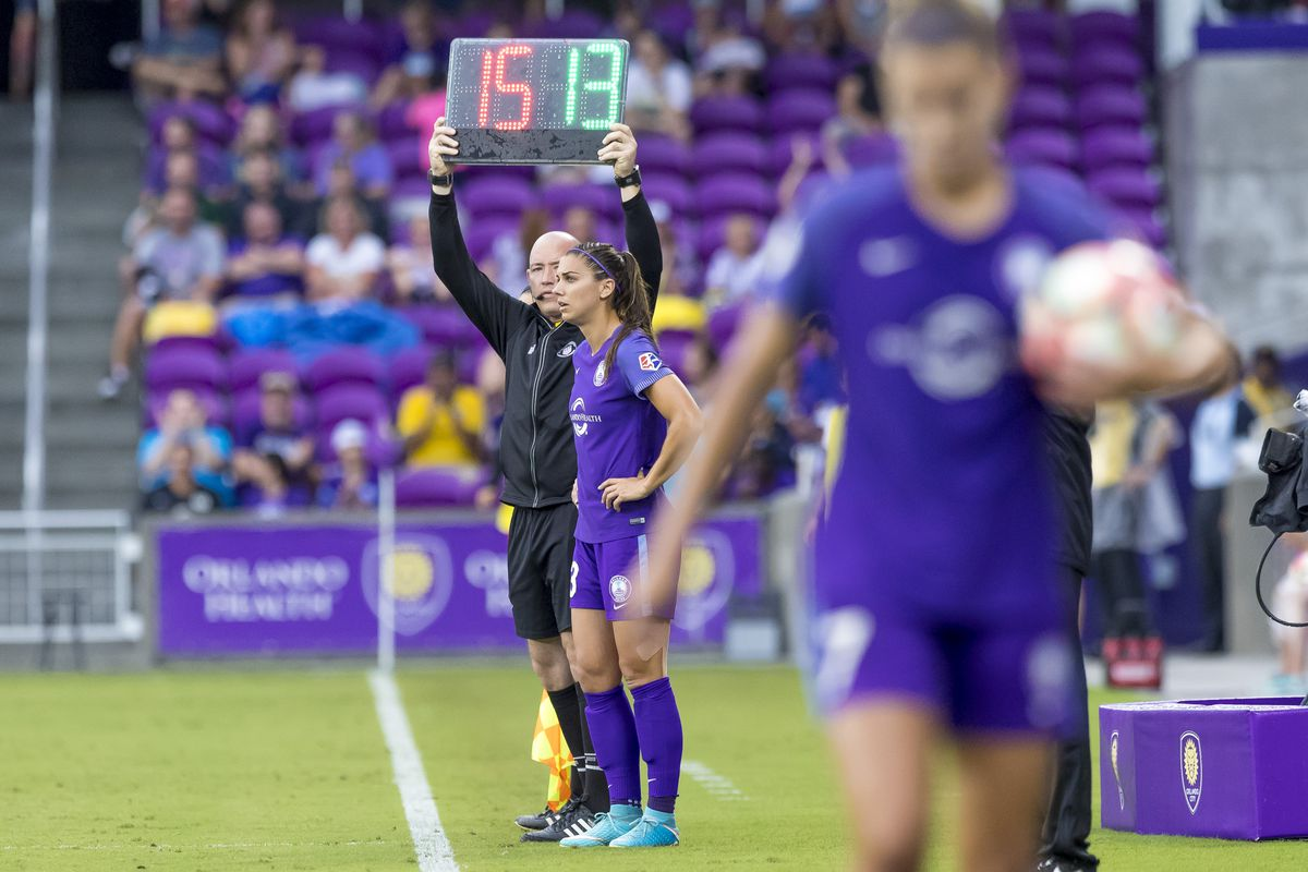 cheap for discount a55d6 d88e7 Orlando Pride Need World Cup Form from Alex Morgan - The ...
