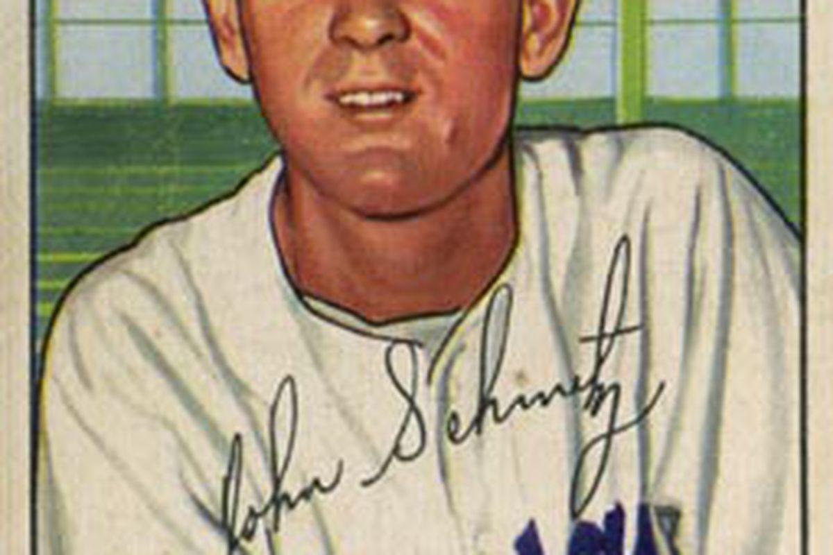 "Johnny Schmitz, via <a href=""http://upload.wikimedia.org/wikipedia/commons/a/a2/Johnny_Schmitz.jpg"">Wikipedia</a>."
