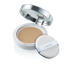 BB cream is a major multi-tasker. It has SPF 50 to protect from harmful UVA/UVB rays and mineral water to cool and hydrate. It also prevents shine, brightens up skin, and reduced dark spots. This Laneige BB Cushion, $34, is available in light, medium, and