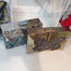 Evening clutches, $600