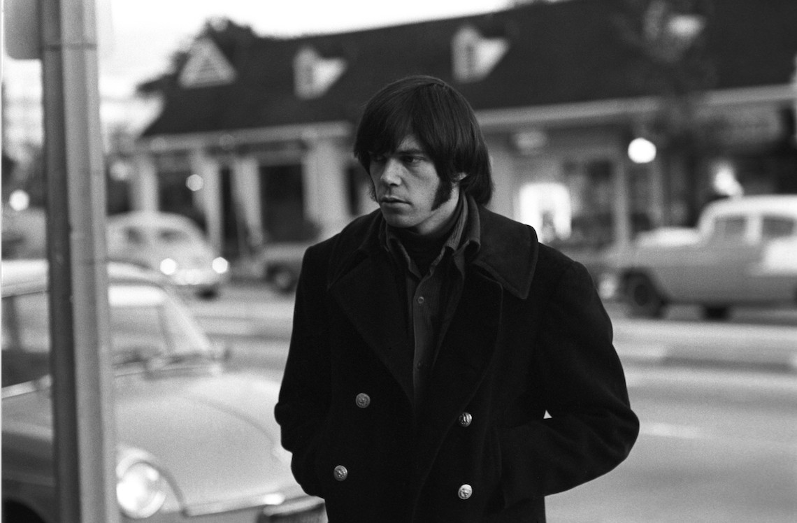 Neil Young (pictured in 1967) says he almost went back to Canada when he couldn't find his potential bandmates in L.A.