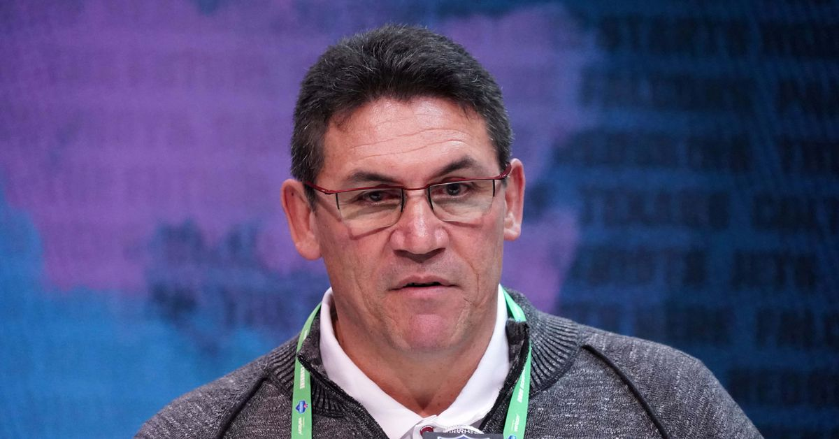 Ron Rivera Redskins Presser: If you trade back, you still need to get an impact payer