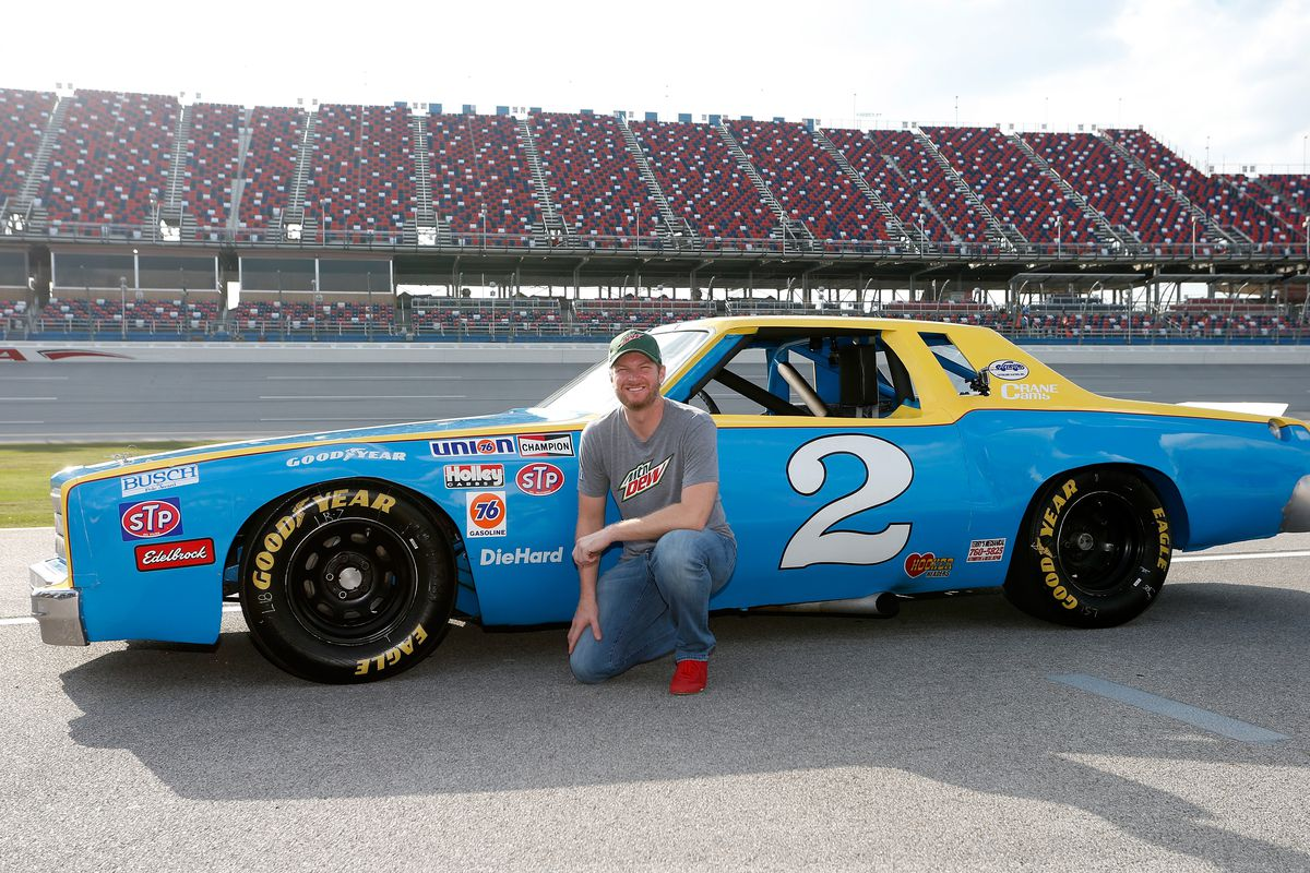 dale earnhardt jr gifted championship winning race car his father