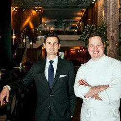 """<a href=""""http://ny.eater.com/archives/2014/07/betony_one_year_in.php"""">Shuman and Rockey on Their High Ambitions for Betony</a>"""