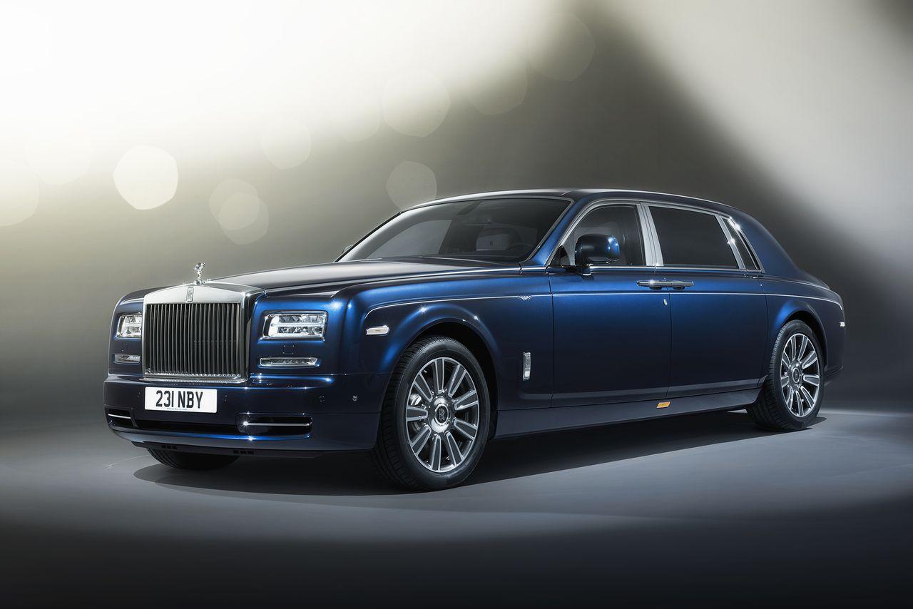 The $650,000 Rolls-Royce Phantom Limelight is designed for famous ...