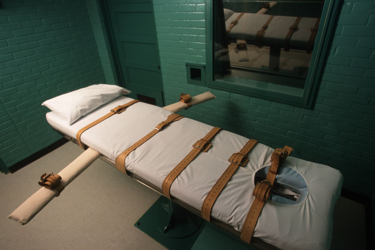 A death chamber in Texas.