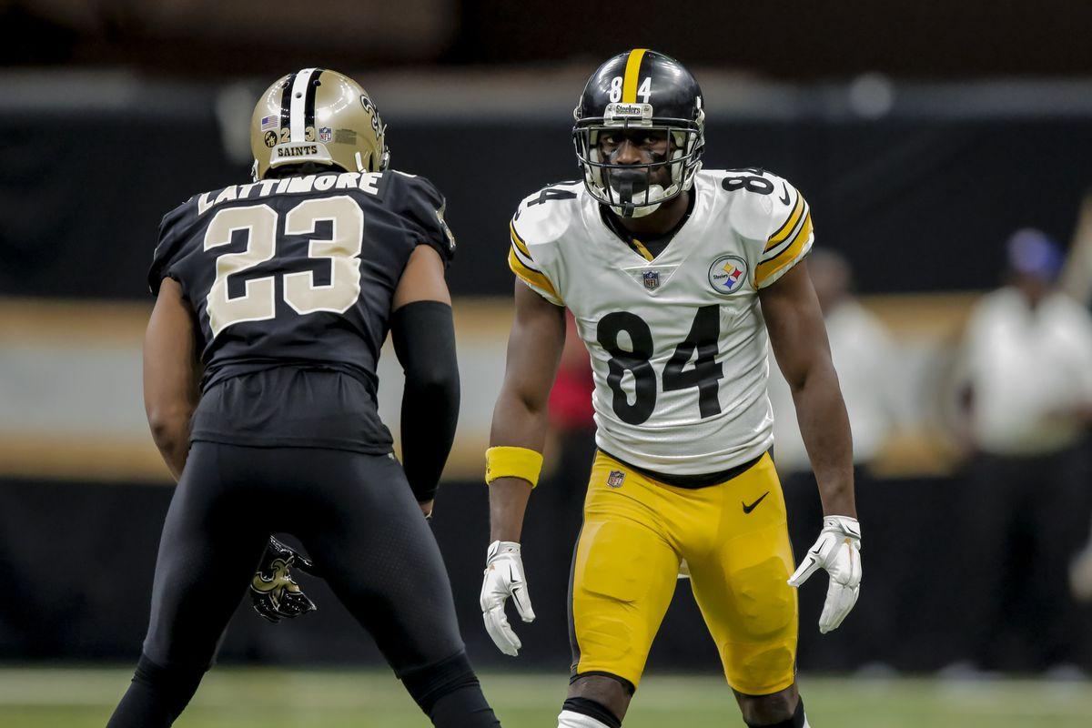 Report Antonio Brown Has Requested To Be Traded From The Steelers