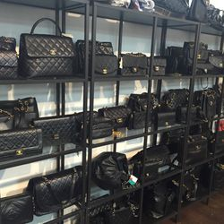 Shelves of Chanel