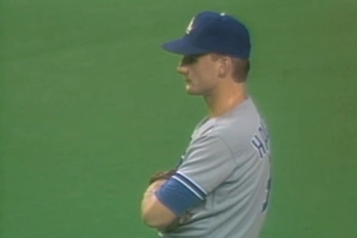 """""""I still can't believe I was out there. I've always wanted to pitch, but I'm mad about losing,"""" Jeff Hamilton said."""