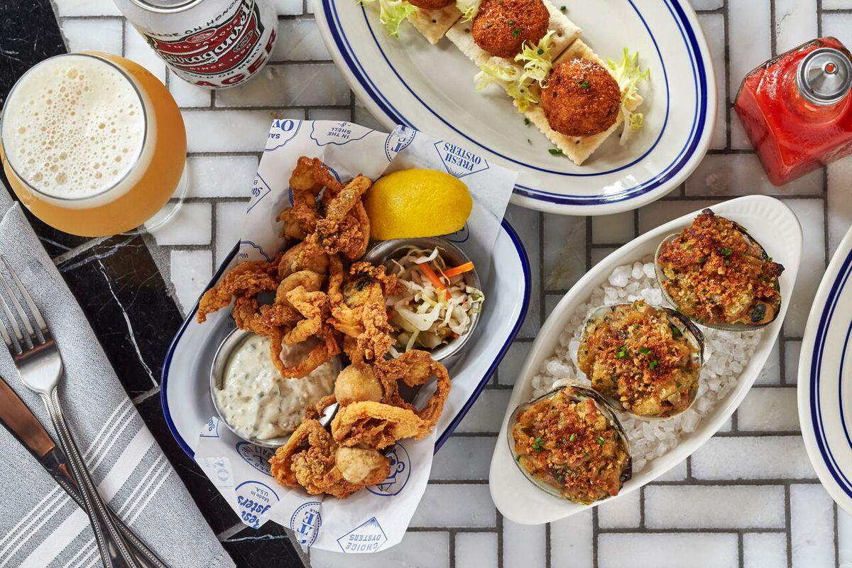 Salt Line DC seafood
