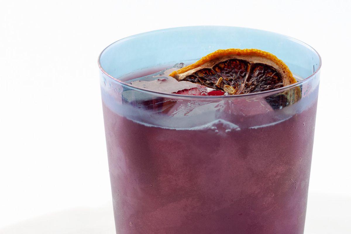 The Tinto de Verano cocktail at Kalimotxo