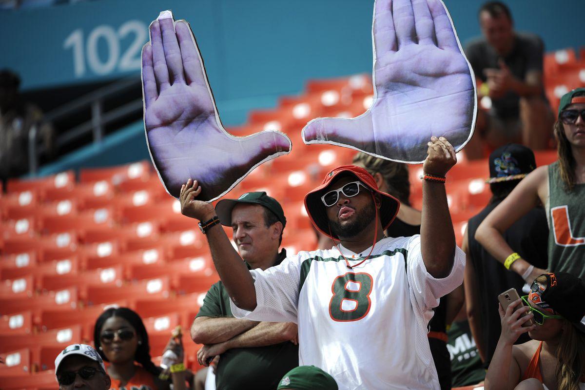 NCAA FOOTBALL: OCT 11 Cincinnati at Miami