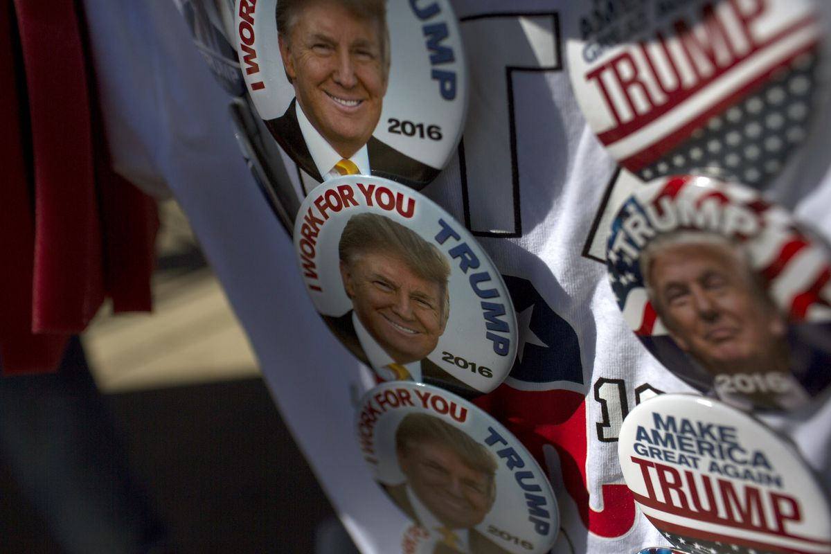 Donald Trump Holds Campaign Rally In Chicago