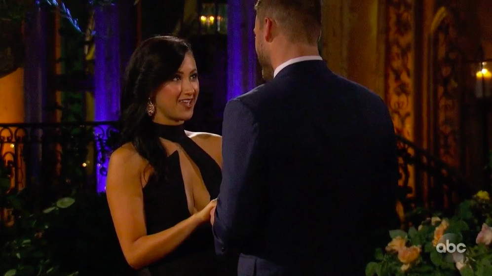 Sydney, a contestant on the Bachelor, who quit her job to compete.