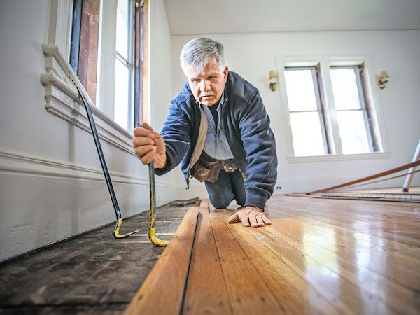 Flooring This Old House