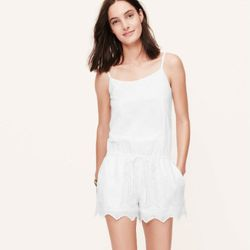 """<b>Jenny Berg, <a href=""""http://chicago.racked.com"""">Racked Chicago</a> editor:</b> """"I take the cheater's route to shorts by wearing rompers. No real styling needed, besides some sandals and a few delicate bracelets if you're so inclined. <b>Loft</b> has a"""