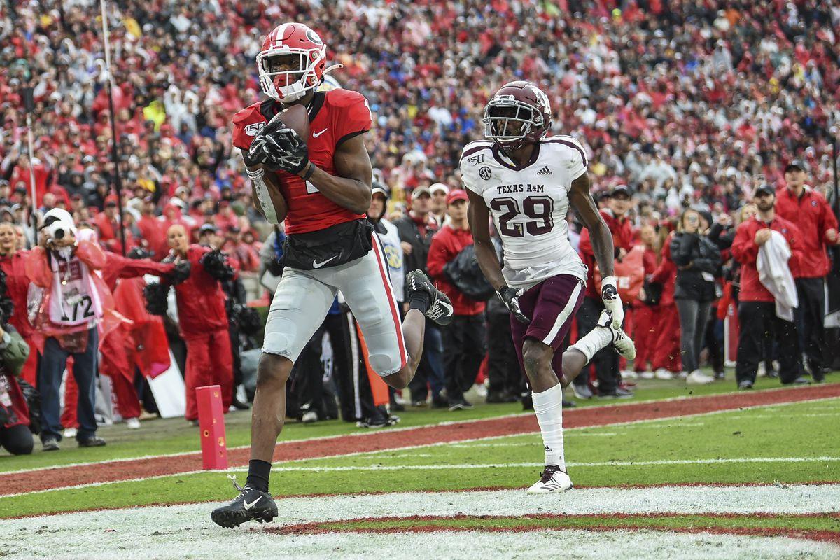NCAA Football: Texas A&M at Georgia