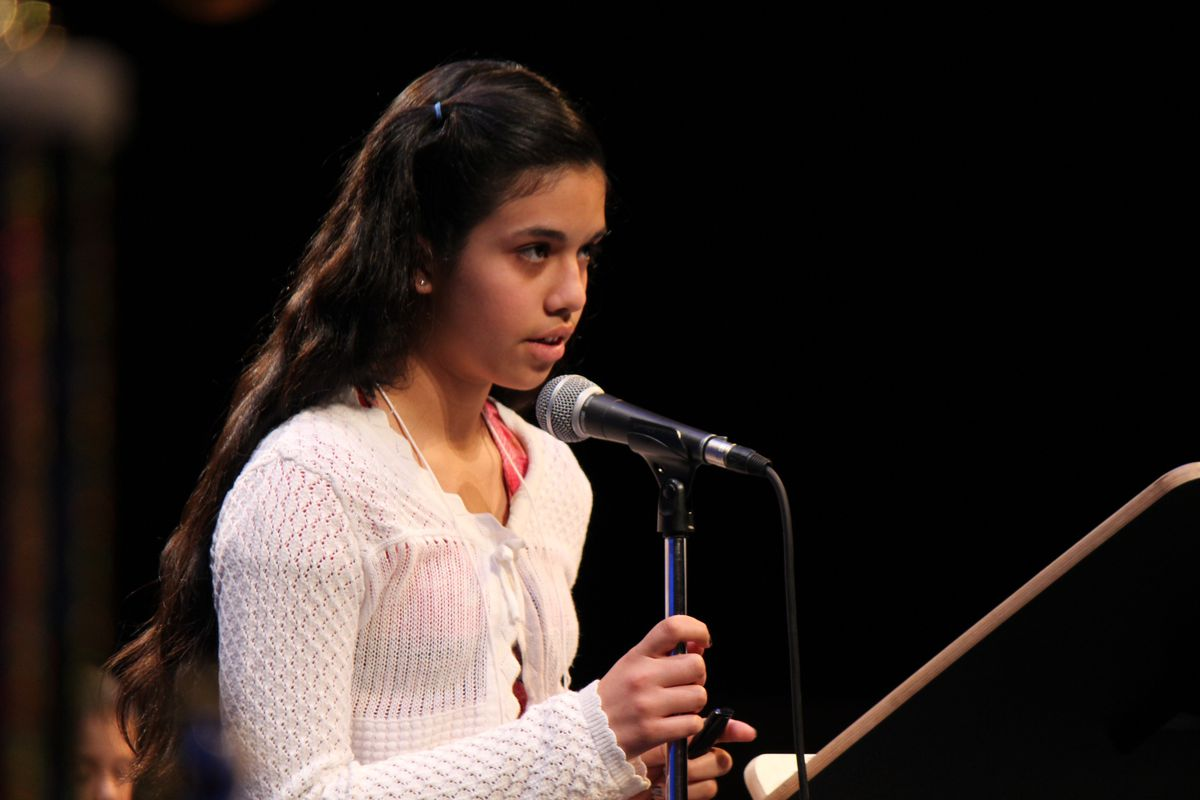 File photo from 2012 National Spanish Spelling Bee. (Courtesy of National Spanish Spelling Bee)