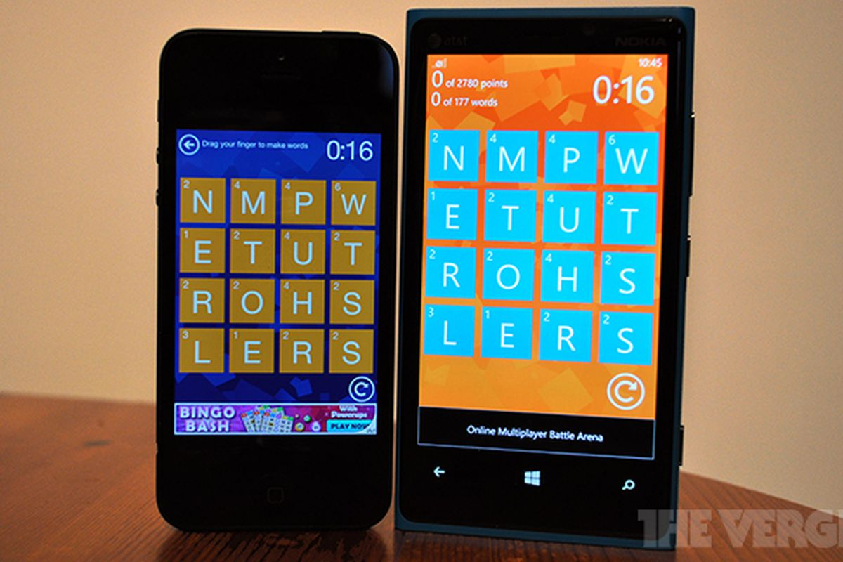 Wordament iOS