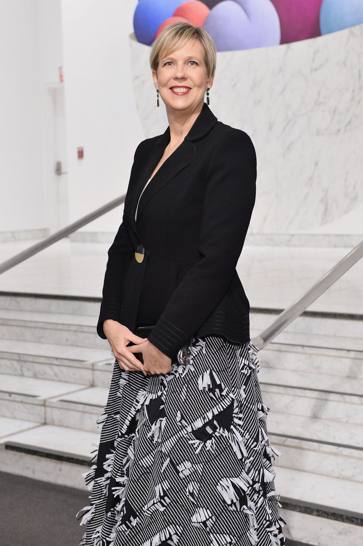 A photo of Joanne Heyler, founding director of the Broad Museum, at the Hammer Museum's 14th annual Gala in the Garden