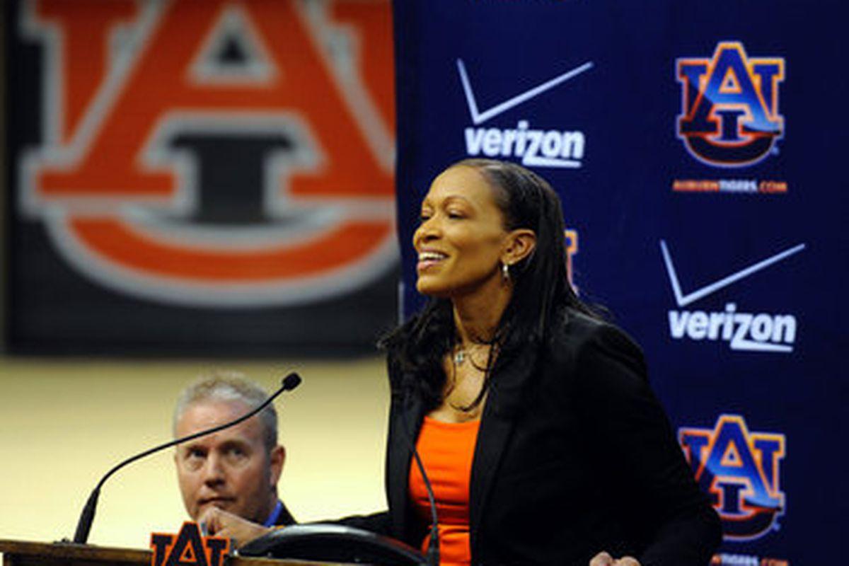 Auburn Women's basketball coach Terri Williams-Flournoy