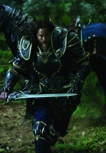 """Travis Fimmel as Commander Anduin Lothar in """"Warcraft."""" 