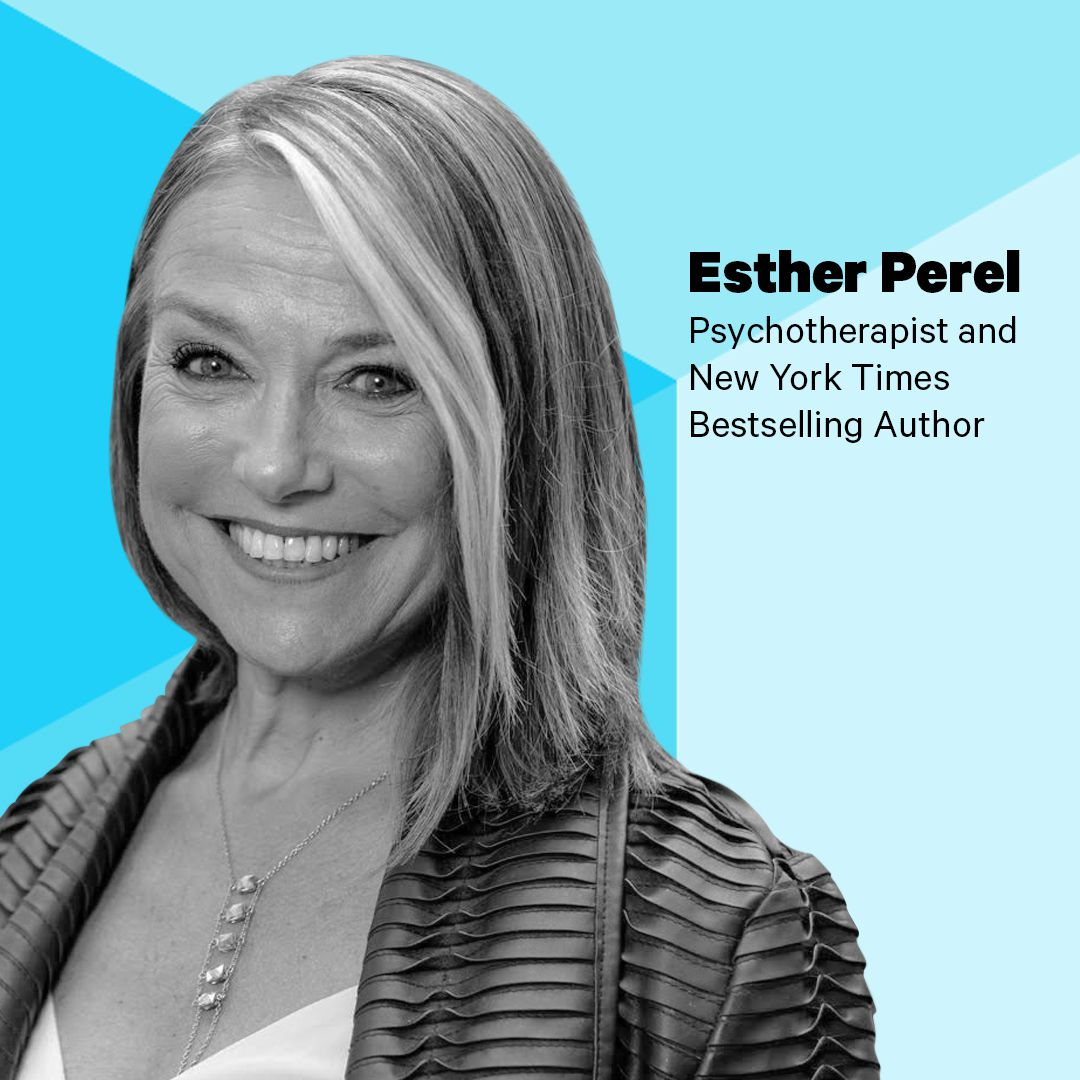 SXSW image with Esther Perel for live podcast taping of Recode Decode with Kara Swisher
