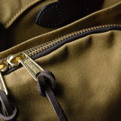 A close-up of one of the best sellers, the Rugged Twill Briefcase Computer Bag.