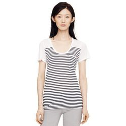 """<b>Jenny Berg, <a href=""""http://chicago.racked.com"""">Racked Chicago</a> editor:</b> I love the featherlight feel of <b>Club Monaco's</b> <a href=""""http://www.clubmonaco.com/product/index.jsp?productId=28823026"""">'Sunny Tees'</a> ($39.50). The lighter hues are"""