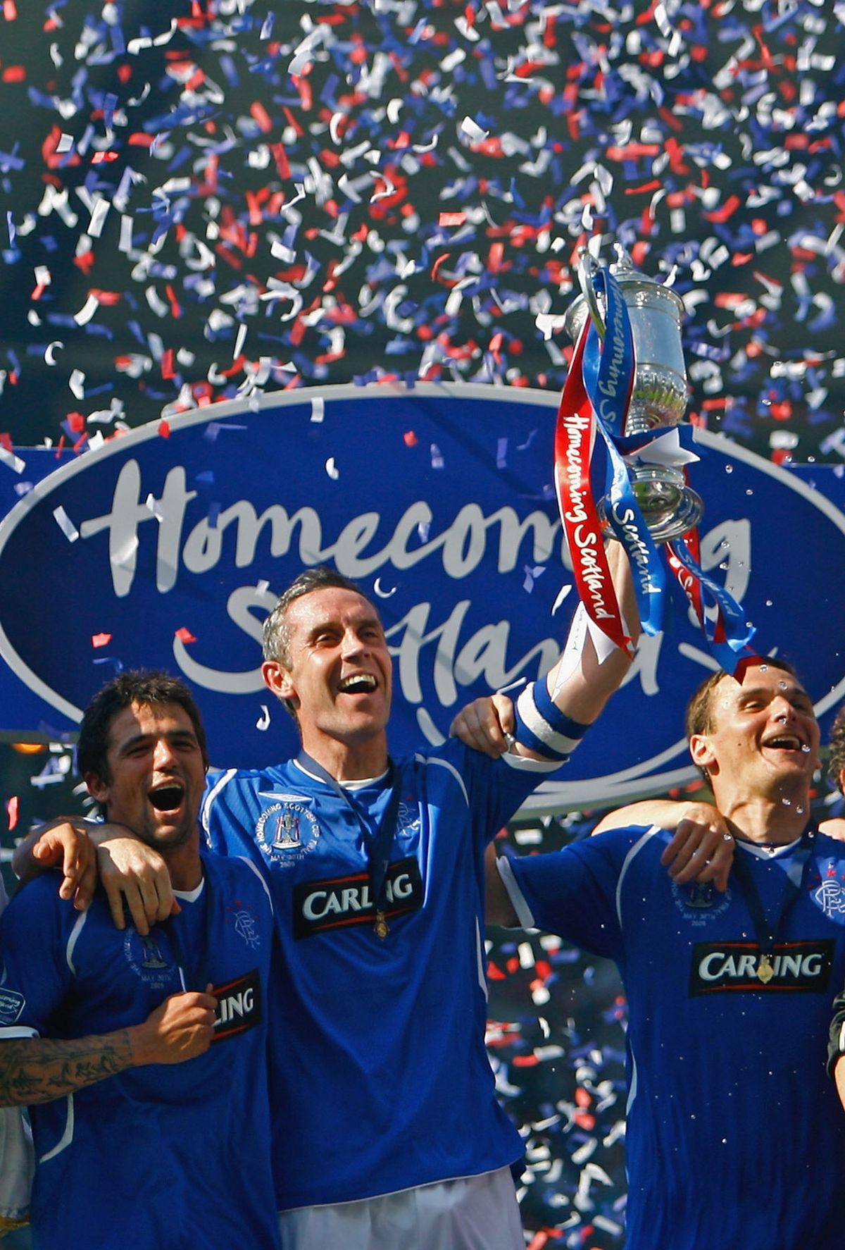 Rangers v Falkirk - Scottish FA Cup Final