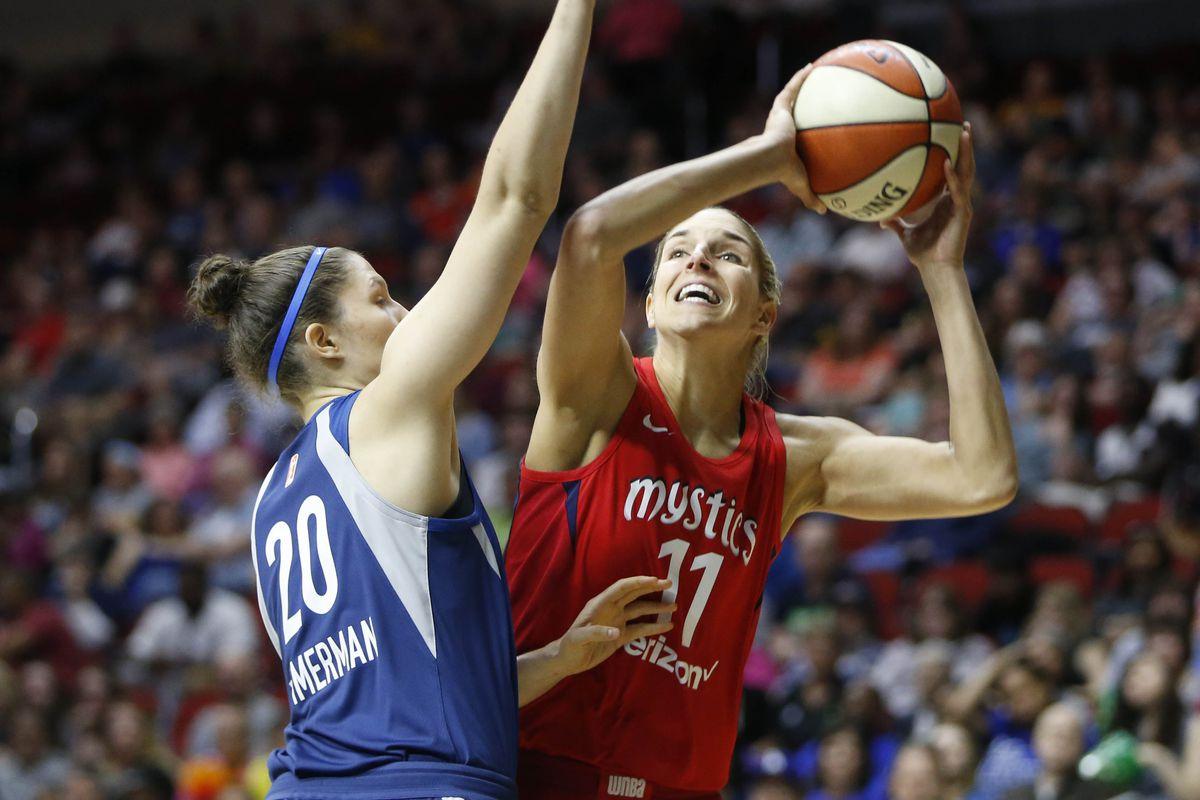 WNBA: Washington Mystics at Minnesota Lynx