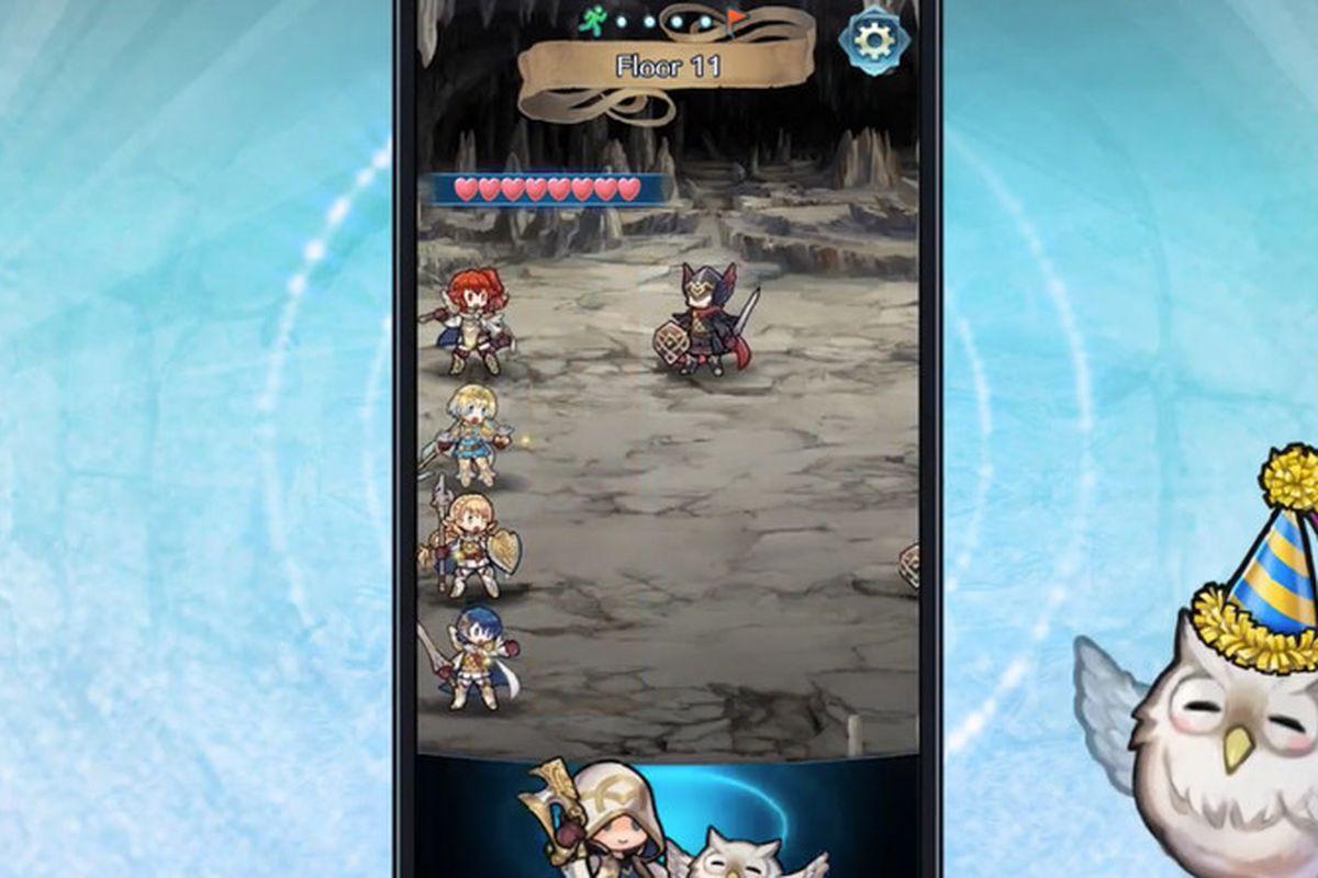 fire emblem heroes tap battle