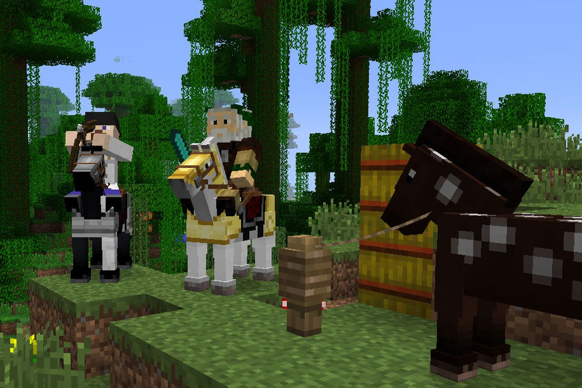 Minecraft Horse Update Enters Pre Release Officially Hitting July