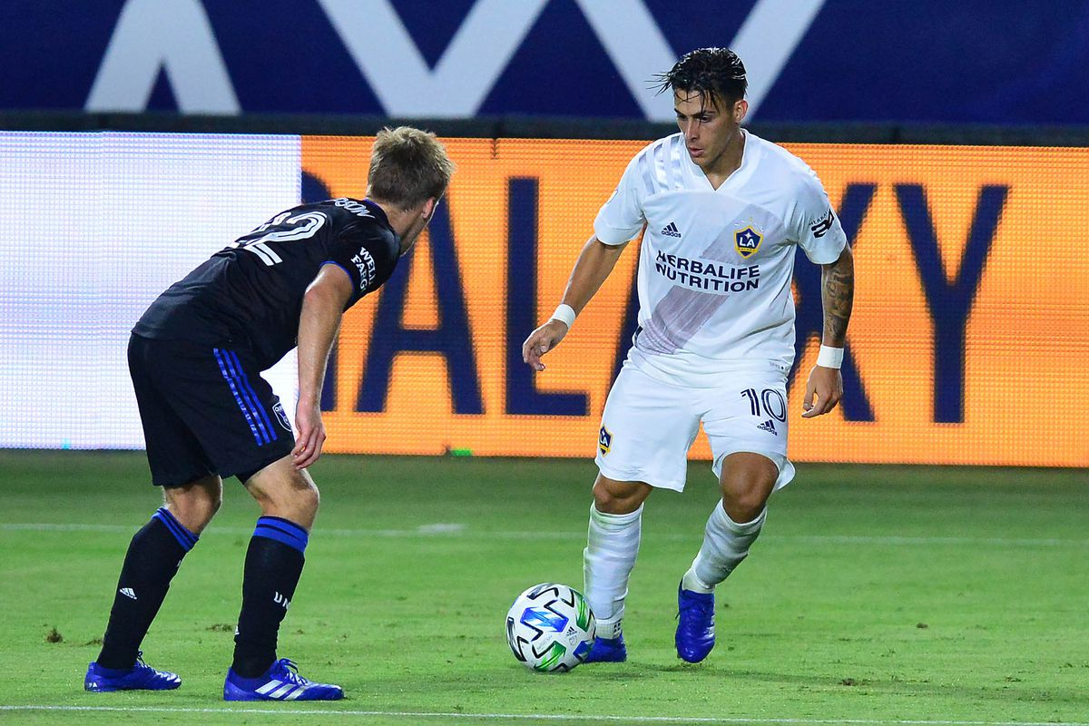 MLS: San Jose Earthquakes at LA Galaxy