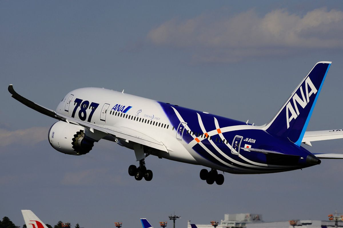 ANA Japan Boeing 787 Dreamliner