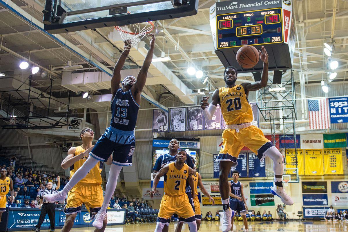 NCAA Basketball: Rhode Island at La Salle