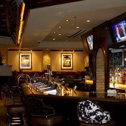 The bar at Sierra Gold.