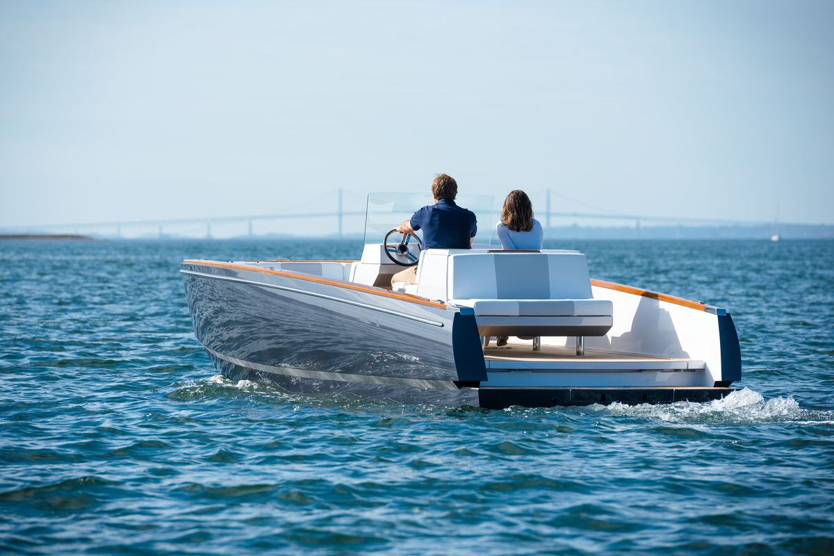 The World S First Fully Electric Luxury Yacht Is At The
