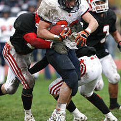 Brighton star Mike Hague will go against another top running back this week in Bingham's Jonathan Cuff.