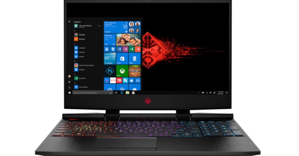 HP's Omen 15t gaming laptop is fast, and cheaper than its ...