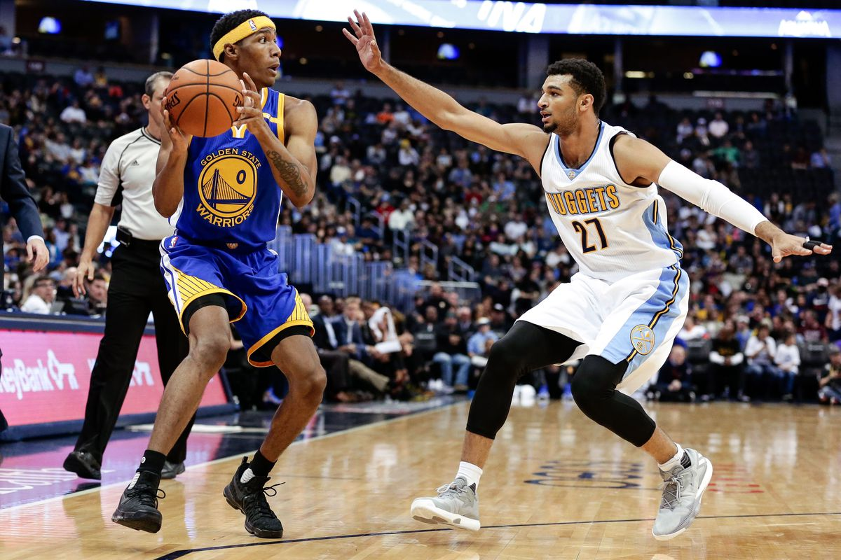 NBA: Preseason-Golden State Warriors at Denver Nuggets