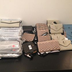 Perforated leather wallets, $49 (was $158)