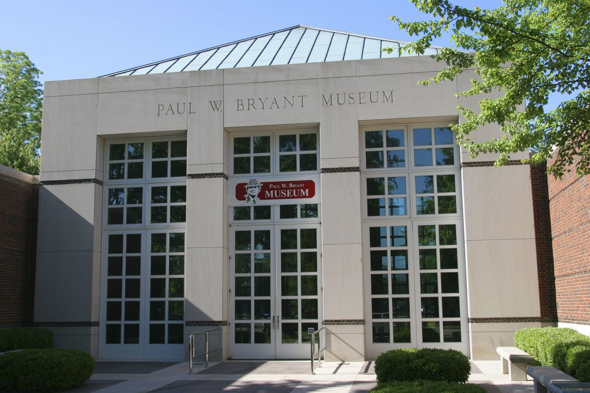 Alabama, Tuscaloosa, Paul W Bryant Museum