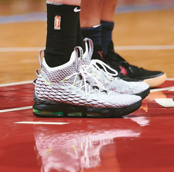 e252ef254200 Diana Taurasi has the best collection of LeBron 15 sneakers ...