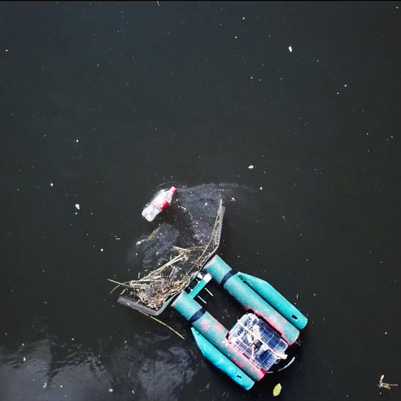 Someone Is Making A Multiplayer Trash Robot You Steer Through An Actual River The Verge